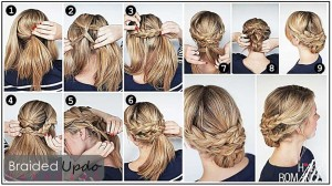 Gorgeous Braided Hairstyles You Can Do In Less Than 10 Minutes