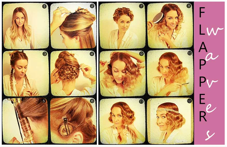 For how to make a vintage hairstyle
