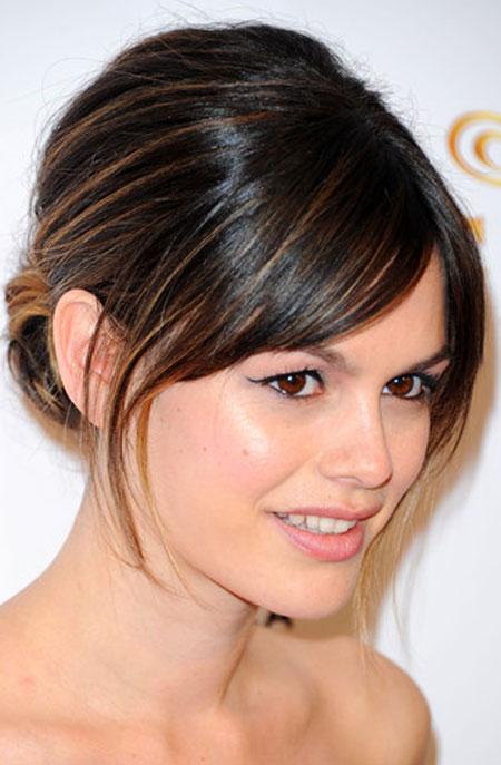 Rachel Bilson Bouffant Updo Prom Hairstyles 2014