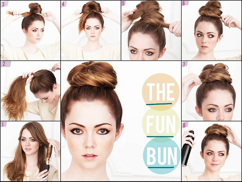 Top Bun Formal Hairstyle Tutorial