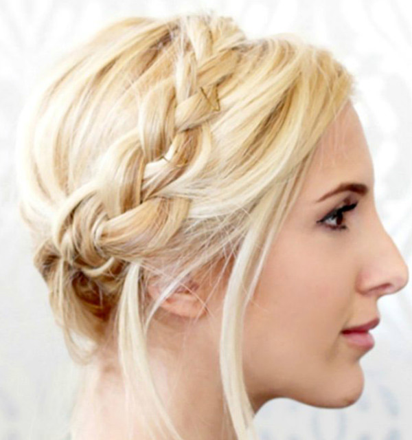 Crown Braid Hairstyle in 5 minutes