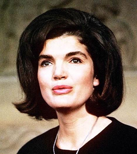 Jackie Kennedy Onassis bouffant bob hair
