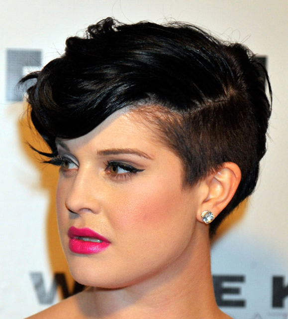 Kelly Osbourne's Modified Mohawk, 2013