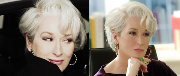 Meryl Streep and her sassy swirl