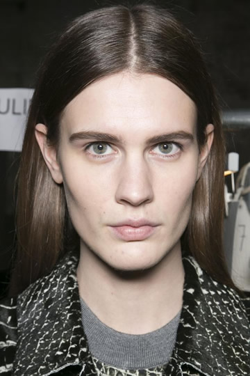 Reed Krakoff Simple & Sleek Hairstyle For Fall/Winter 2013