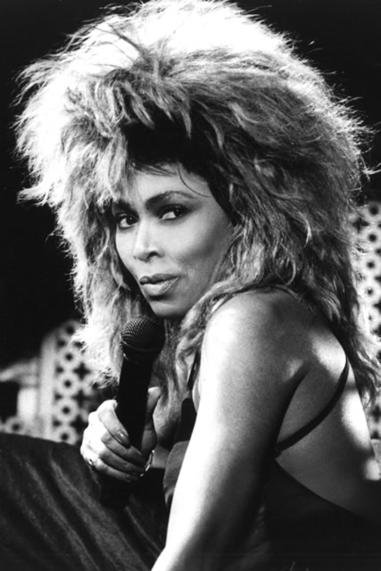 Tina Turner's Big Hair Frizz
