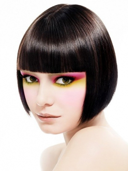 Pageboy Bob Hairstyle for Fine Hair